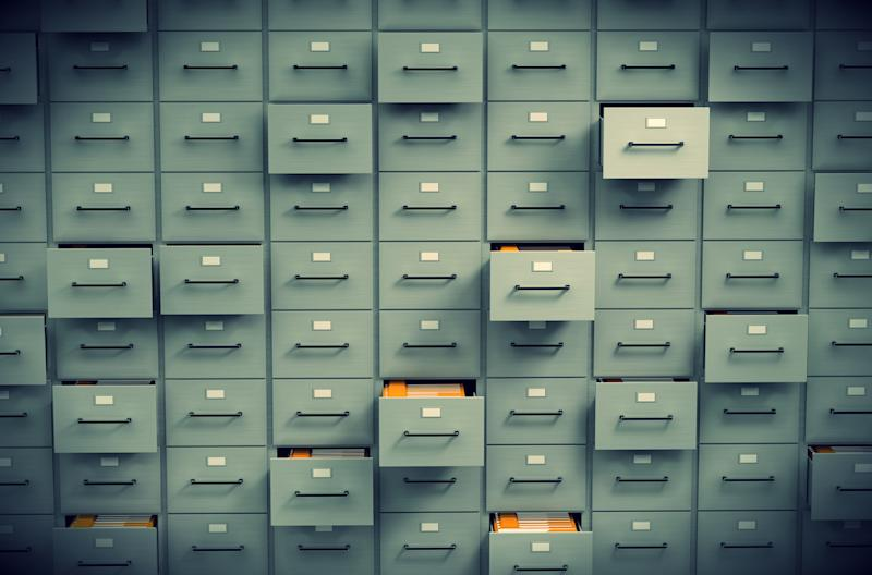big data history file cabinets