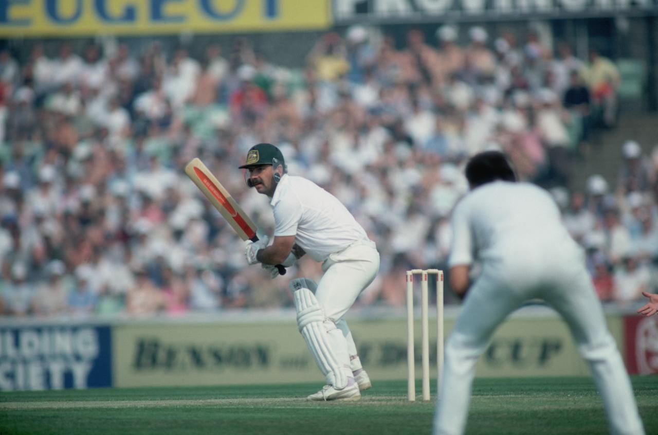 Cricketer Rod Marsh hits a four for Australia during the 5th Test at Old Trafford, August 1981. (Photo by Adrian Murrell/Getty Images)