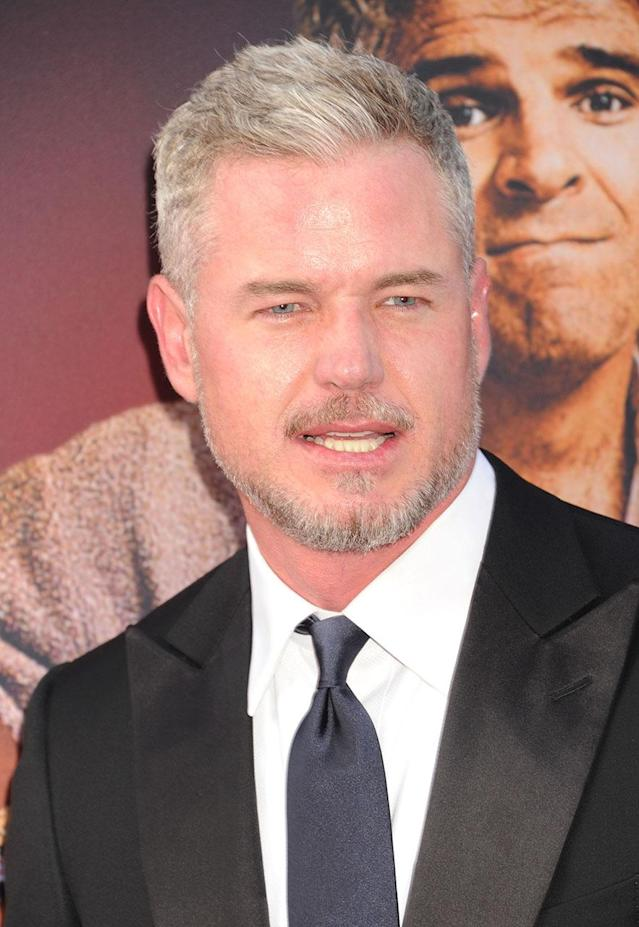 "<p>The <em>Grey's Anatomy</em> hunk, 44, has been under the radar recently as he <a href=""https://www.yahoo.com/celebrity/eric-dane-makes-first-public-appearance-since-depression-reveal-144602574.html"" data-ylk=""slk:treats his depression;outcm:mb_qualified_link;_E:mb_qualified_link"" class=""link rapid-noclick-resp newsroom-embed-article"">treats his depression</a>. Personal problems aside, has he gotten McSteamy-er since he left the show or what? We're sure Rebecca Gayheart, his wife since 2004, would agree. (Photo: Jeffrey Mayer/WireImage) </p>"