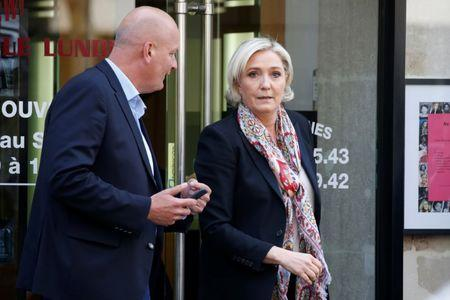 People are revolting against the elite, says France's Marine Le Pen