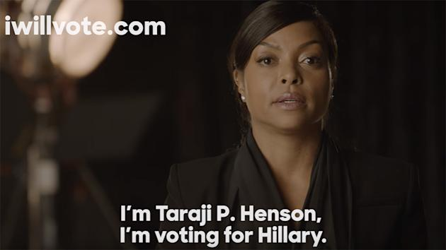 'Empire' Cast Pledges Support for Hillary Clinton in Campaign Ad