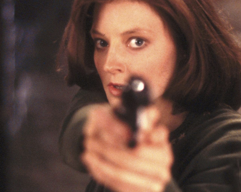 Jodie Foster in 'The Silence of the Lambs'