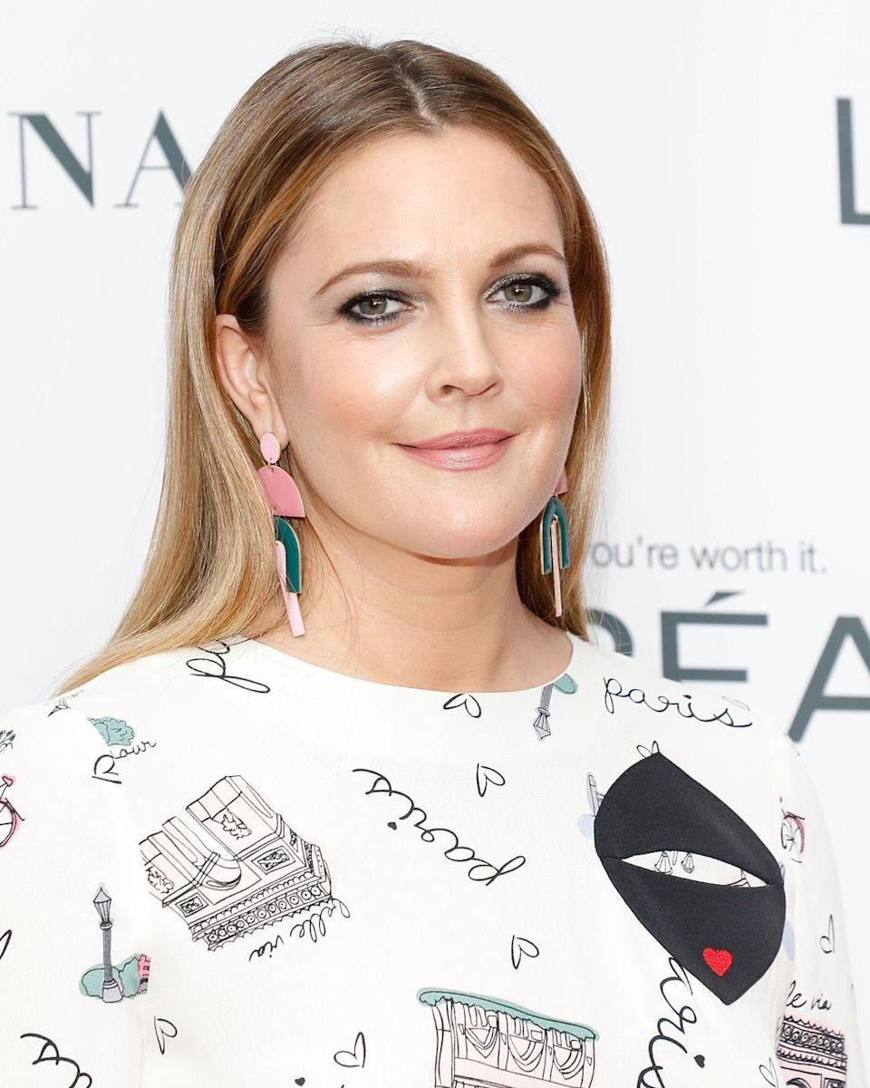 "<p>On set of <em>Santa Clarita Diet,</em> Barrymore went to jump on a man's back to kill him in a scene, but fell off, smashing her skull on the concrete. ""It was f–king terrifying,"" she told <a href=""https://www.usmagazine.com/celebrity-news/news/drew-barrymore-almost-died-making-santa-clarita-diet-w466157/"" rel=""nofollow noopener"" target=""_blank"" data-ylk=""slk:Us Weekly"" class=""link rapid-noclick-resp"">Us Weekly</a>. ""It was very serious. I've never had a feeling like that in my life."" Paramedics took her to the hospital, where she stayed for two days getting MRIs and CAT scans. She was left with a concussion.</p>"