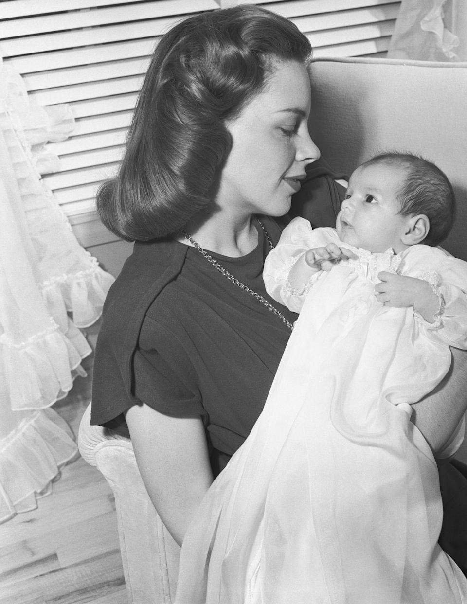 <p>Judy welcomed baby Liza to the world. </p>