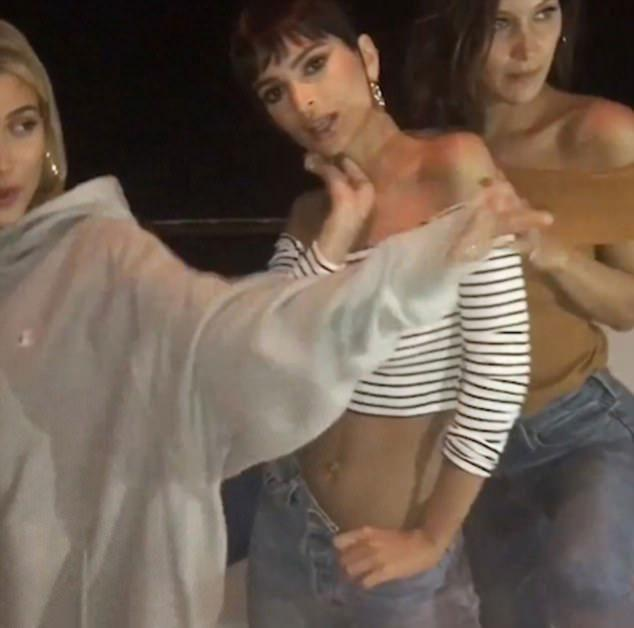 The models danced the night away after the red carpet. Source: Instagram