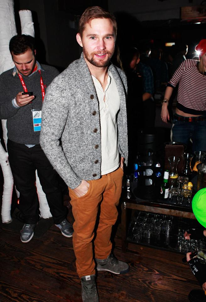 PARK CITY, UT - JANUARY 19: Actor Brian Geraghty attends Night 2 of Hyde Lounge on January 19, 2013 in Park City, Utah.  (Photo by Todd Oren/Getty Images for Hyde Lounge)