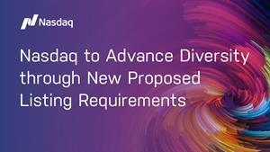 Nasdaq has filed a proposal with the U.S. Securities and Exchange Commission to adopt new listing rules related to board diversity and disclosure