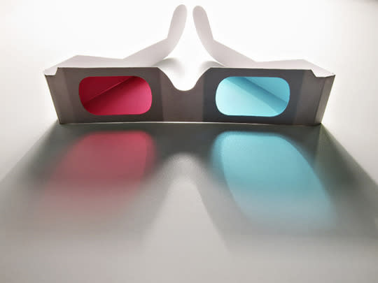 """<p>3-D films are more popular than ever — and who doesn't love a multi-sensory experience?. But beware — those glasses are plain old filthy. A <a href=""""http://www.goodhousekeeping.com/institute/a20844/how-clean-are-3d-glasses/"""" rel=""""nofollow noopener"""" target=""""_blank"""" data-ylk=""""slk:study"""" class=""""link rapid-noclick-resp"""">study</a> by The Good Housekeeping Institute tested wrapped and unwrapped glasses, discovering bacteria on all samples. Although most of what they found was benign, one pair had traces of Staphylococcus aureus, which can cause skin infections and pink eye. Swipe these with antibacterial wipes before using.</p><p><i>(Photo: Getty Images)</i><br></p>"""