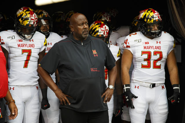 Maryland went just 3-9 in its first year under head coach Mike Locksley, but received a massive recruiting win on Wednesday. (AP Photo/Chris Szagola, File)
