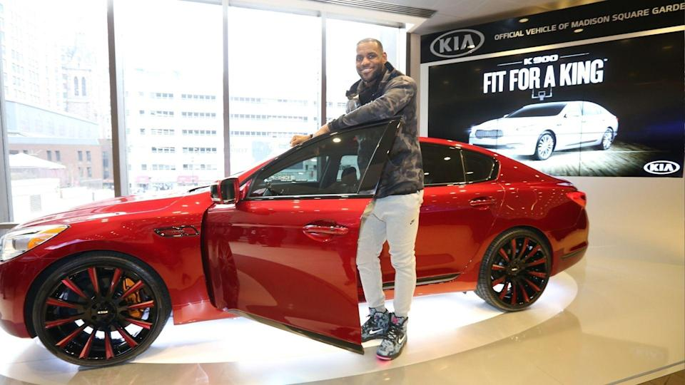 Lebron James Has Quite The Car Collection