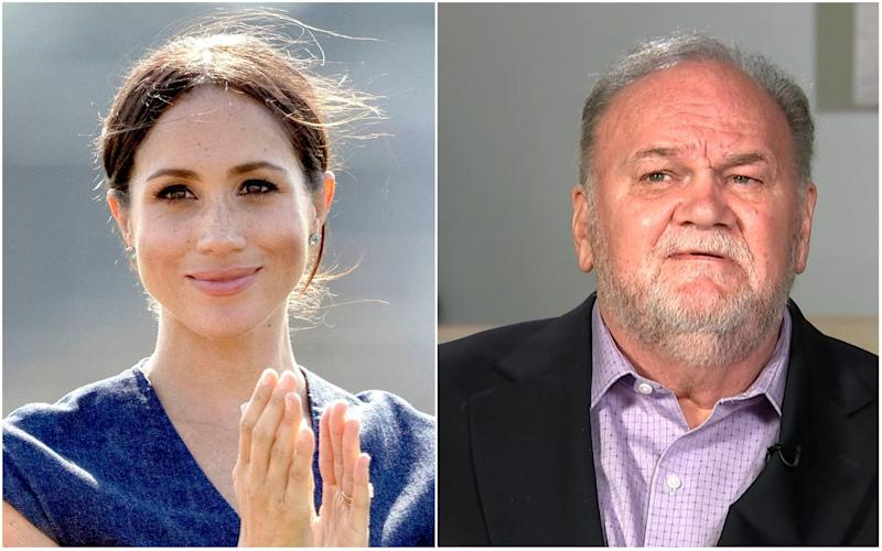 Thomas Markle said he was proud to hear news of Meghan's pregnancy: PA/Reuters