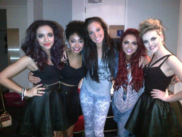 Celebrity photos: Tulisa Contostavlos became very close to her 'little muffins' when she was mentoring them on The X Factor, and this week she was reunited with the girls. Collaboration please, ladies.