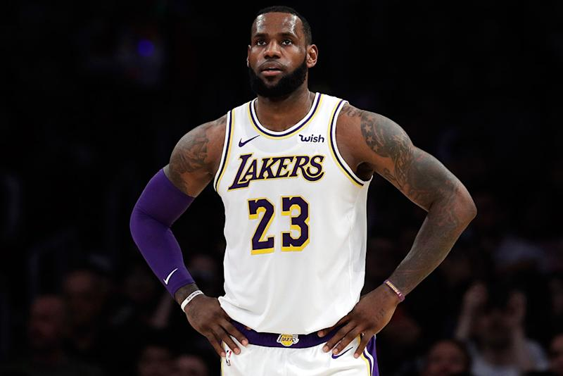 1f2638266cca4 LeBron James Shows Off Nike Yeezy-Inspired Sneakers on Instagram