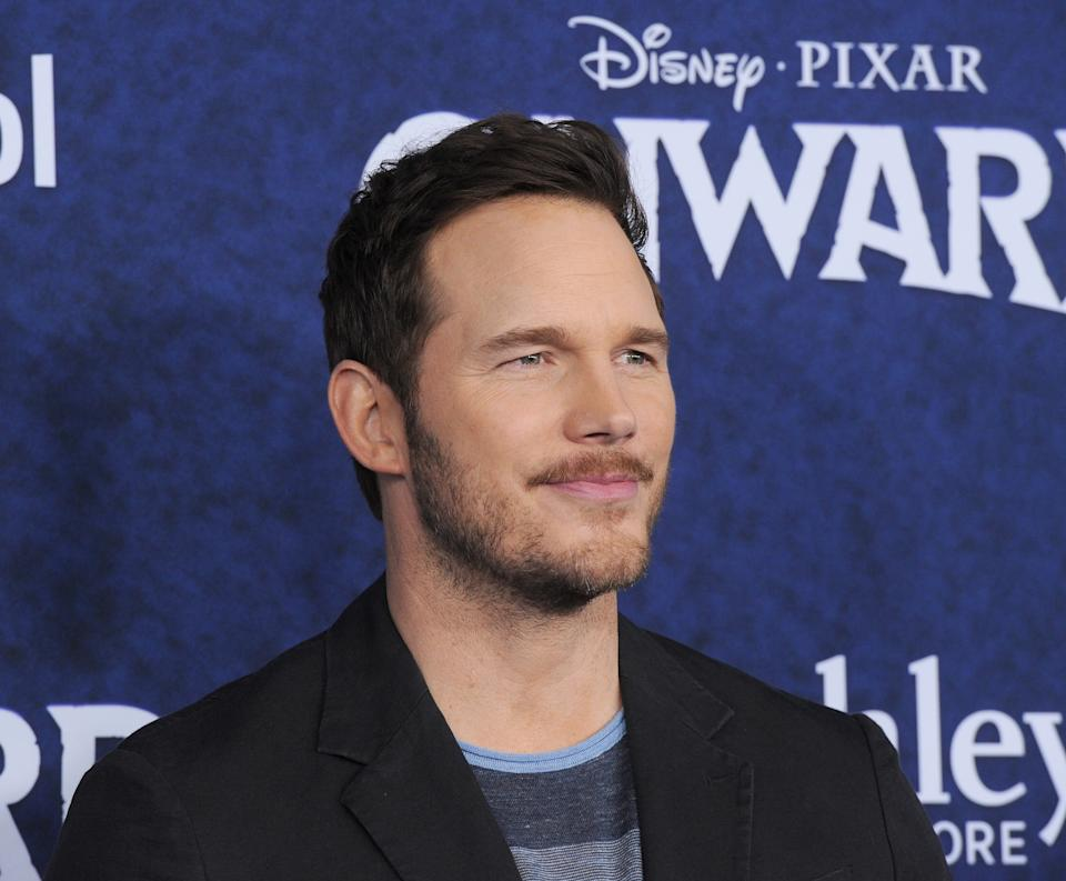 """HOLLYWOOD, CA - FEBRUARY 18:  Chris Pratt arrives for Premiere Of Disney And Pixar's """"Onward""""  held at the El Capitan Theatre on February 18, 2020 in Hollywood, California.  (Photo by Albert L. Ortega/Getty Images)"""