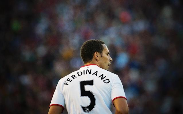 Rio Ferdinand in action for Manchester United (AFP Photo/JONATHAN NACKSTRAND)