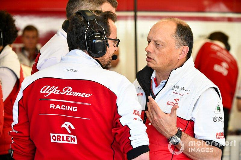 "Frederic Vasseur, jefe de Alfa Romeo Racing.<span class=""copyright"">Mark Sutton / Motorsport Images</span>"