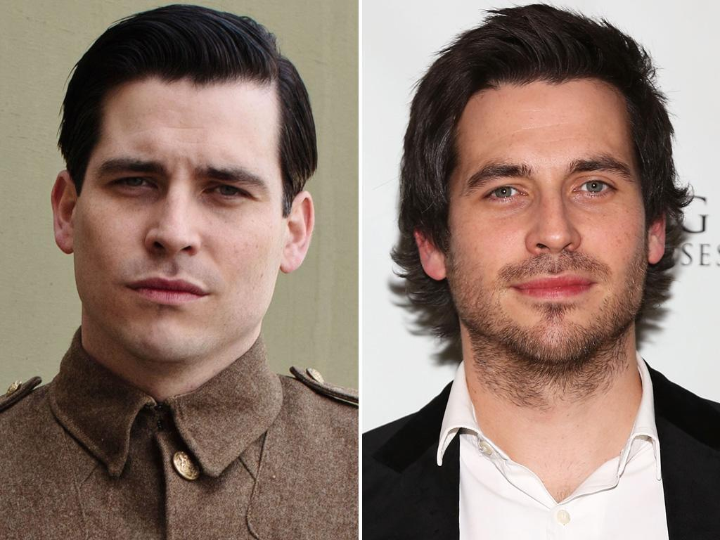 <p>With facial scruff and a shaggy hairdo, we're happy to see <strong>Rob James-Collier</strong> look a bit less evil when he's not in character as scheming footman Thomas. Plus, we barely recognize him without a cigarette in his mouth.</p>