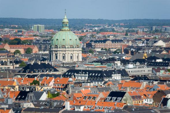 Denmark has been named the world's happiest country