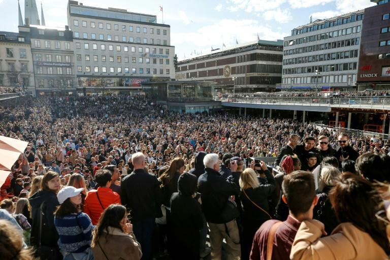 The event in memory of Avicii was organised by fellow Swedish DJs who paid tribute to him