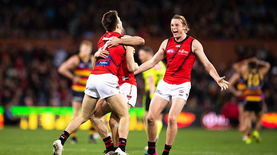 Essendon continued their impressive run of recent form with a win over Adelaide.
