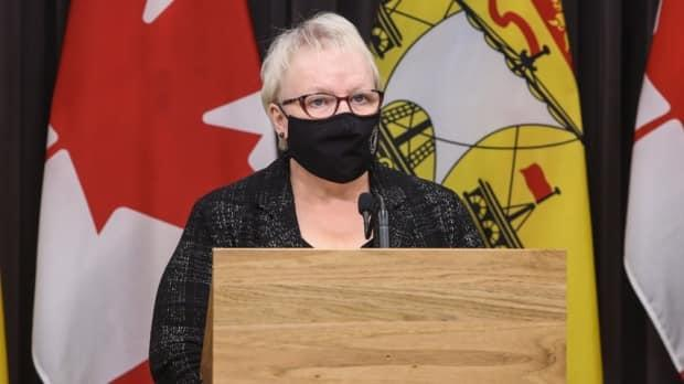 Health Minister Dorothy Shephard says the province is working on providing same-day counselling and mental-health services. (Government of New Brunswick - image credit)