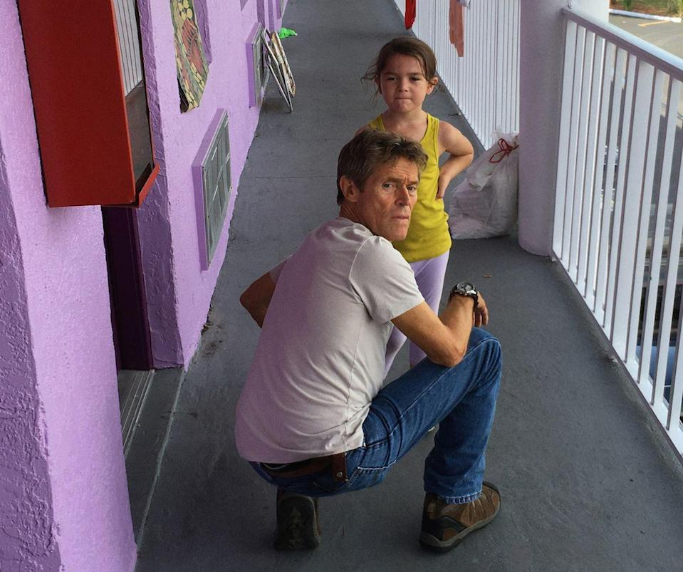 "<p><em>The Florida Project</em> is a true A24 film in all the best ways: gorgeous color palettes, perfectly-executed shots, nuanced characters, and, in special cases, an appearance from Willem Dafoe. Set in Orlando, Florida, at a motel nestled just before the highway exit for Disney World, <em>The Florida Project</em> is a distinct portrait of childhood amidst warm, vibrant, and harsh surroundings.</p><p><a class=""link rapid-noclick-resp"" href=""https://www.netflix.com/watch/80194388?source=35"" rel=""nofollow noopener"" target=""_blank"" data-ylk=""slk:Watch Now"">Watch Now</a></p>"