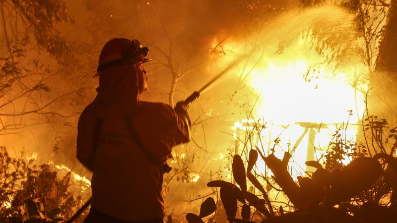 California governor on wildfires: 'This is the new abnormal'
