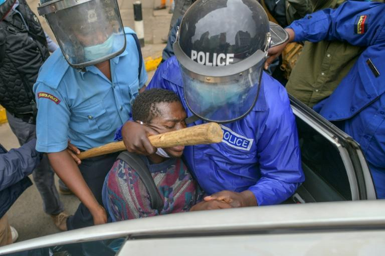 Kenyan police have often been accused of brutality in the past, but charges are rare