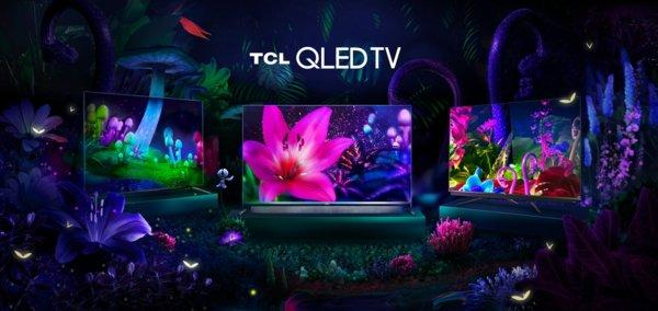 TCL QLED TVs: C715, X915, C815 (from left to right)