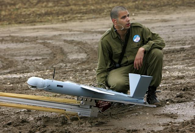Israel drone downed in Syria