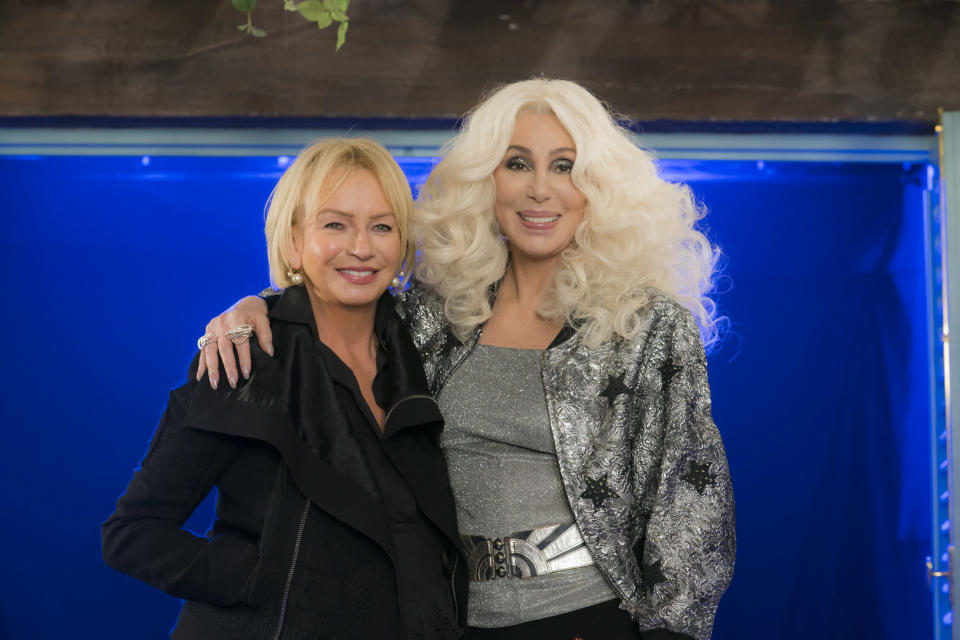 Judy Craymer and Cher