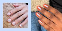 "<p class=""body-dropcap"">Hot take: Round nails are the best <a href=""https://www.cosmopolitan.com/style-beauty/beauty/g25018919/nail-shapes/"" rel=""nofollow noopener"" target=""_blank"" data-ylk=""slk:nail shape"" class=""link rapid-noclick-resp"">nail shape</a> of them all. Yep, I said it! Come for me! I don't care! As cool as longer, pointier nails look, they're naturally going to be a bit more high-maintenance and fragile (umm, kinda like the popular kids in school). But round nail shapes? Your ol' faithful; your BFF. They're classic and reliable, and they don't require expensive <a href=""https://www.cosmopolitan.com/style-beauty/beauty/a30172434/manicure-types-guide/"" rel=""nofollow noopener"" target=""_blank"" data-ylk=""slk:acrylic manicures"" class=""link rapid-noclick-resp"">acrylic manicures </a>or <a href=""https://www.cosmopolitan.com/style-beauty/beauty/g31192211/best-press-on-nails/"" rel=""nofollow noopener"" target=""_blank"" data-ylk=""slk:press-on nails"" class=""link rapid-noclick-resp"">press-on nails</a> to copy the look. See why I love them so much?</p><h2 class=""body-h2""><strong>How to make nails round</strong><br></h2><p>With round nails,<strong> the idea is to mimic the arc of your cuticles when shaping them.</strong> So you'll want to gently move a <a href=""https://www.amazon.com/OPI-Nail-Files-Brilliance-Buffer/dp/B003YJ13WI/?linkCode=ogi&tag=cosmopolitan_auto-append-20&ascsubtag=[artid
