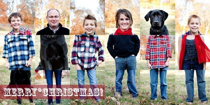 """<p>This head-turning family photo will have card recipients doing a double take. <i>(Photo: <a href=""""http://theredish.com/"""">The Redish</a>)</i> </p>"""