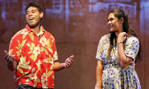 Bran Nue Dae review: great Australian musical with vibrant cast resonates at Sydney festival