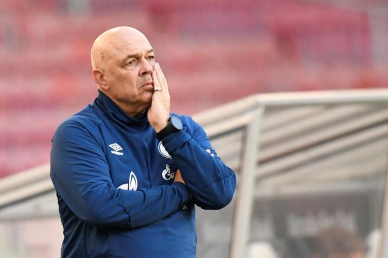 Christian Gross was sacked by Schalke after only two months in the job
