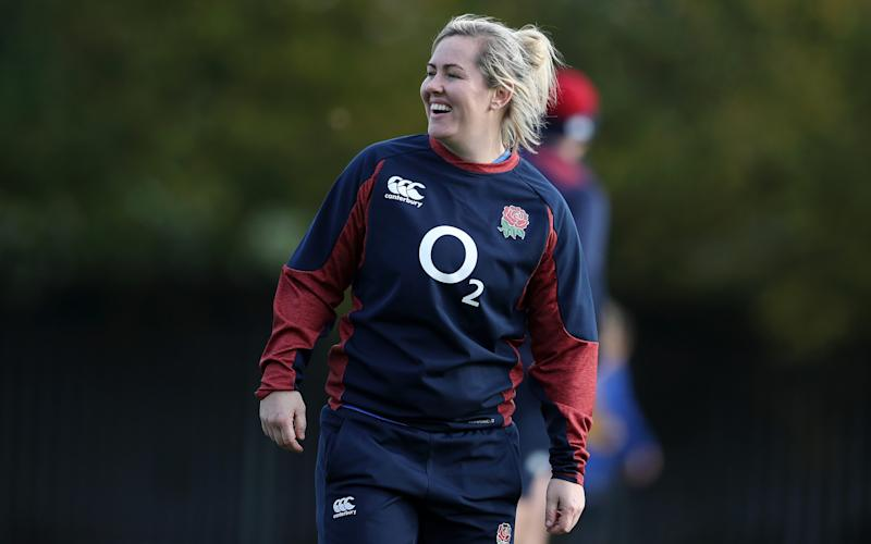 Marlie Packer the third most-capped forward in Simon Middleton's England squad - 2019 The RFU