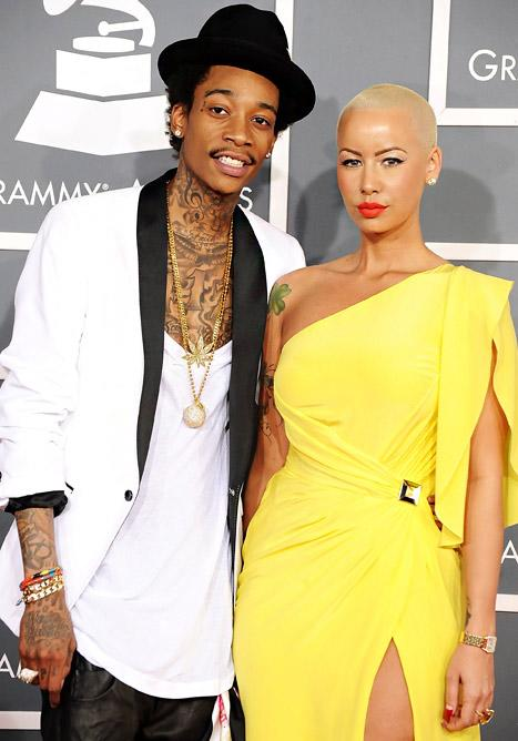 """Wiz Khalifa, Amber Rose Will Be Legally Wed """"In a Couple Weeks"""""""