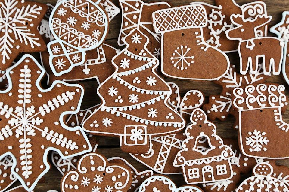 "<p>There's no contest here—those who celebrate Christmas in Delaware just don't do it without a big batch of gingerbread. Sweet!</p><p>Get the <a href=""https://www.delish.com/cooking/recipe-ideas/a50468/gingerbread-cookies-recipe/"" rel=""nofollow noopener"" target=""_blank"" data-ylk=""slk:recipe"" class=""link rapid-noclick-resp"">recipe</a>.</p>"