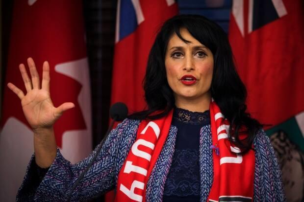The Alberta anti-racism advisory council recommendations were released Friday, nearly four months after they were submitted to Leela Sharon Aheer, minister of culture, multiculturalism and status of women.  (THE CANADIAN PRESS - image credit)