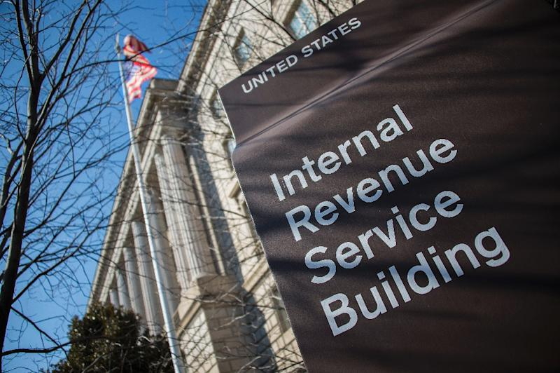 Hackers stole information on 100,000 taxpayers from the online computers of the US Internal Revenue Service last month (AFP Photo/Jim Watson)