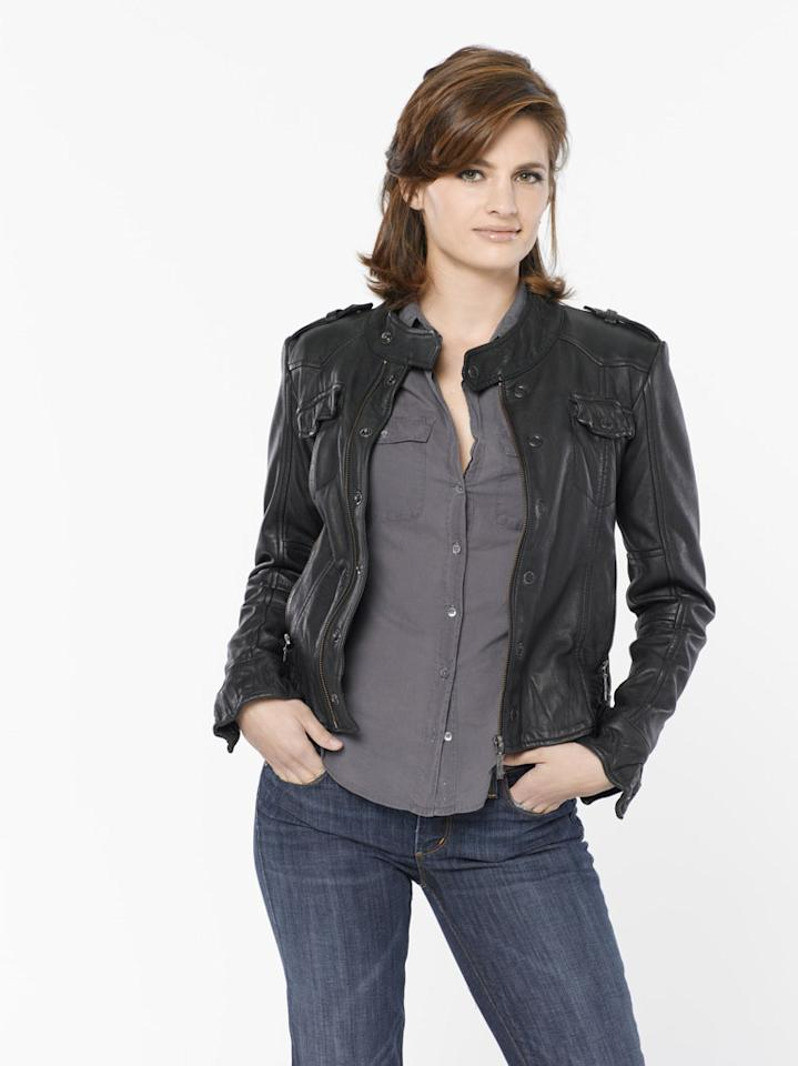 "Stana Katic stars as NYPD Detective Kate Beckett in ""Castle."""