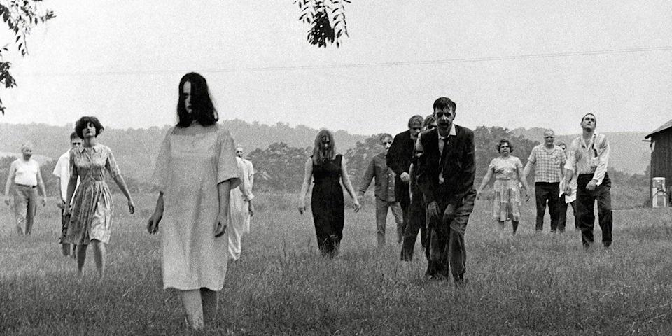 <p>What started with <em>Night of the Living Dead </em>in 1968, led to <em>Dawn of the Dead</em> (1978), <em>Day of the Dead </em>(1985), <em>Land of the Dead </em>(2005), <em>Diary of the Dead </em>(2007), and <em>Survival of the Dead </em>(2009). Throw in the respective <em>Night</em>, <em>Dawn</em>, and <em>Day</em> remakes/side-sequels, and you have <strong>11</strong> films. Proving that the dead never stay, uh, dead.</p>