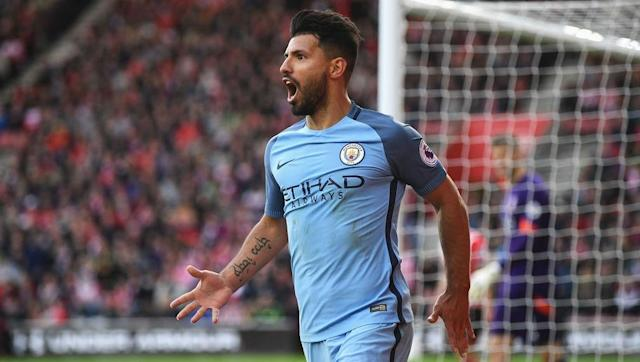 <p>Sergio Aguero hasn't reached the same heights this season that his usual standards would have you expect, but that doesn't change the fact that he remains the most valuable forward currently plying his trade in the Premier League.</p> <br><p>Harry Kane and Romelu Lukaku are both objectively valued at £42.5m.</p>