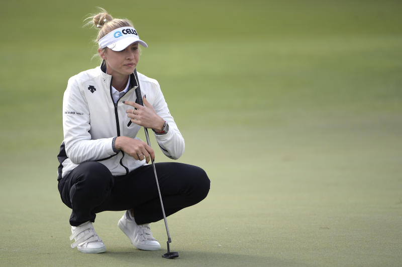 Nelly Korda has 3-shot lead into Australian Open's 4th round