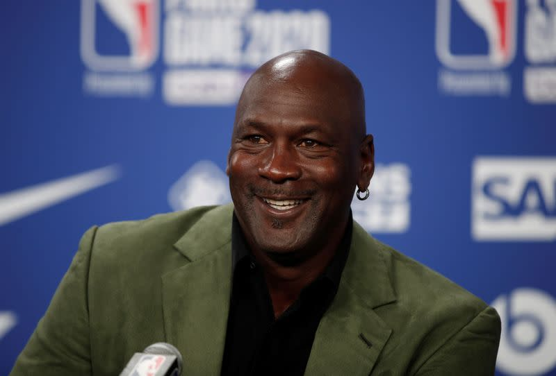 NBA legend Michael Jordan bets on DraftKings, will advise board; shares jump