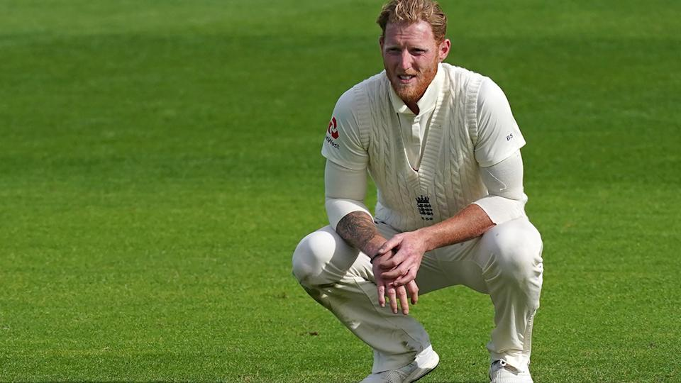 The looming absence of Ben Stokes from England's upcoming Ashes tour in Australia has posed some challenges for selectors, particularly with the bowling attack. (Photo by JON SUPER/POOL/AFP via Getty Images)