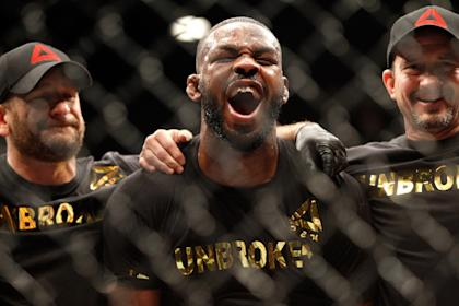 Jon Jones is currently suspended indefinitely from the UFC. (Photo by Steve Marcus/Getty Images)