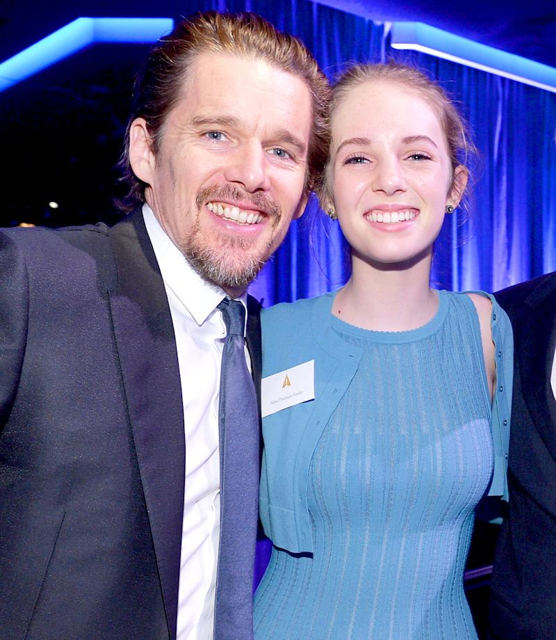 Ethan Hawke Reveals Where His Daughter Maya, 17, Is Going ...