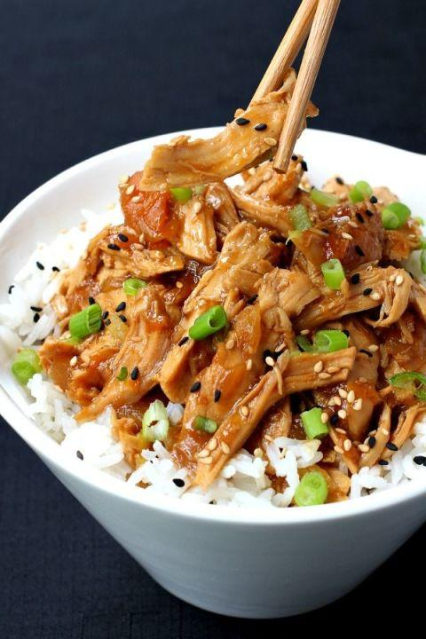 15 healthy crock pot recipes to try this spring for Best healthy chicken crock pot recipes