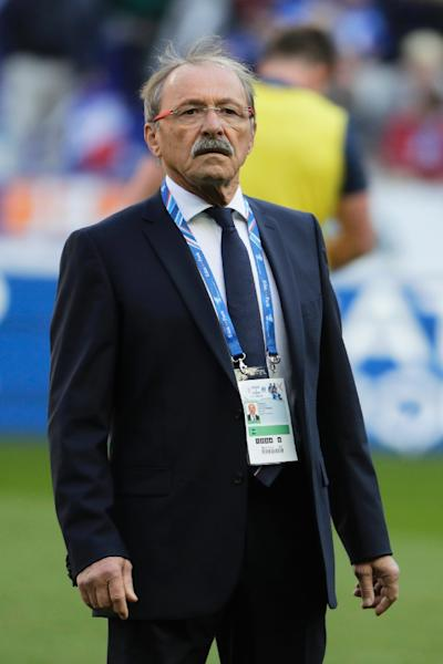 France head coach Jacques Brunel has won five out of 16 matches since taking over from Guy Noves in December 2017 (AFP Photo/Thomas SAMSON)